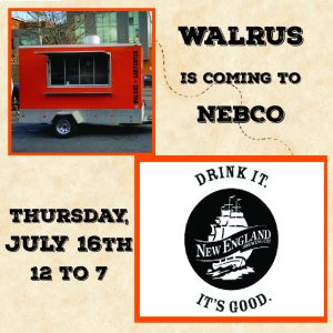 Walrus Trailer @ New England Brewing Co. @ Two Roads Brewing