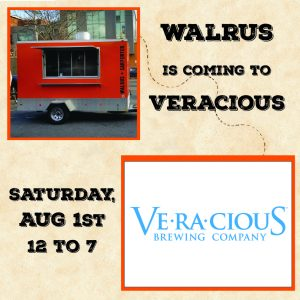 Walrus Trailer @ Veracious @ Two Roads Brewing