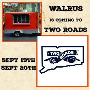Walrus Trailer @ Two Roads Octoberfest @ Two Roads Brewing