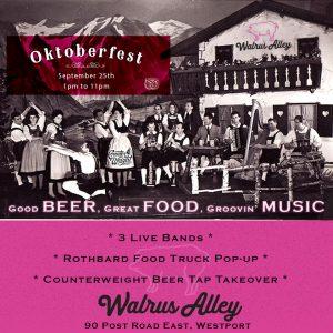 Oktoberfest at Walrus Alley @ Walrus Alley